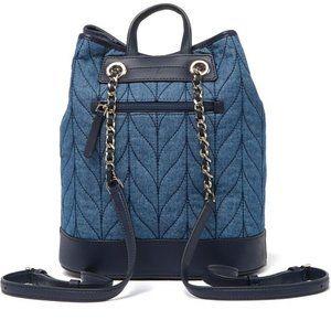 Kate Spade Briar Lane Denim Bucket Backpack NWT